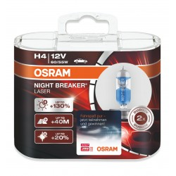 لامپ H4 (3فیش) نایت بریکر لیزر اسرام آلمان (جفت)