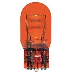 لامپ دو کنتاک نارنجی پایه فشاری MKS