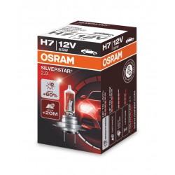 لامپ H7 (دوفیش) سیلور استار اسرام آلمان