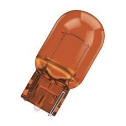 لامپ تک کنتاک نارنجی با پایه شیشه ای اسرام آلمان(فشاری)