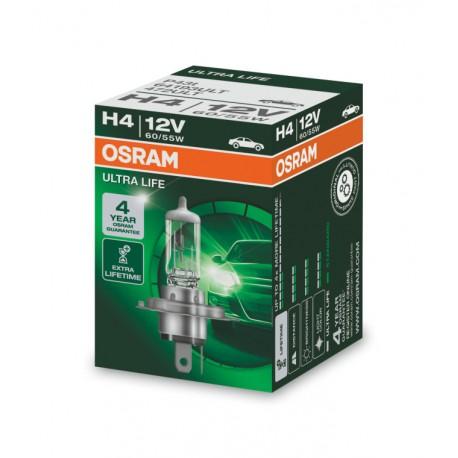 لامپ H4 (سه فیش) الترا لایف اسرام
