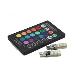 لامپ 6SMD رنگی با ریموت