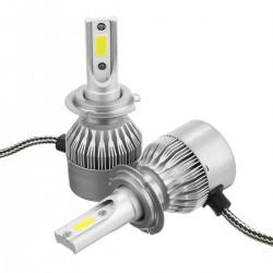 لامپ هدلایت H11 کنباکس دار با رنگ نوری سفید