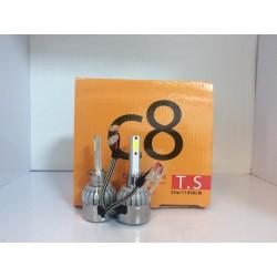 لامپ هدلایت H1 کنباکس دار با رنگ نوری سفید
