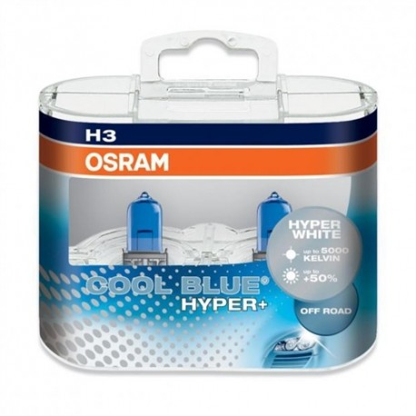 لامپ H3(سیمدار) Cool Blue Hyper اسرام (جفت)
