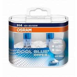 لامپ H4 نور سفید اسرام Cool Blue Hyper (جفت)