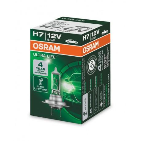 لامپ H7 (دوفیش) الترا لایف اسرام