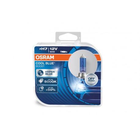 لامپ H7 نورسفید Cool Blue Boost اسرام