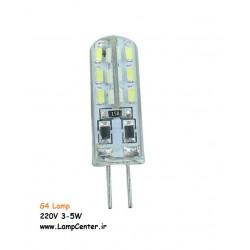 لامپ سوزنی 12 ولت LED سفید