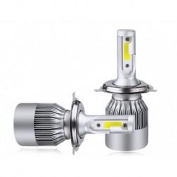 لامپ هدلایت H4 سه رنگ (جفت)