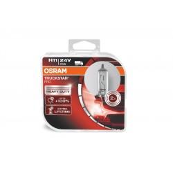 لامپ H11 با ولتاژ 24 ولت اسرام(جفت)