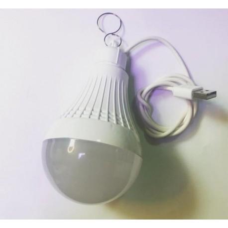 لامپ ال ای دی USB با رنگ نوری مهتابی